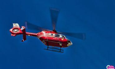 Accident rutier la Valea Dobrii: Bărbat din Alba Iulia, transportat cu elicopterul SMURD la spitalul din Târgu Mureș