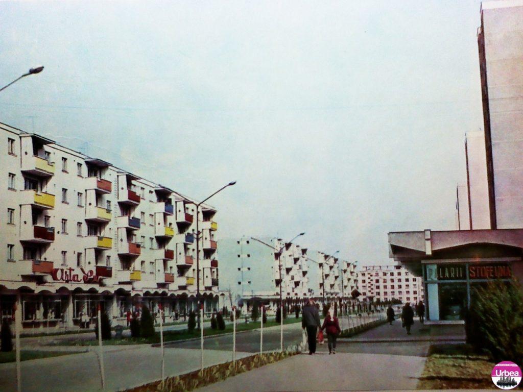 """Bulevardul """"Transilvania"""" din Cartierul """"Platoul Romanilor""""."""