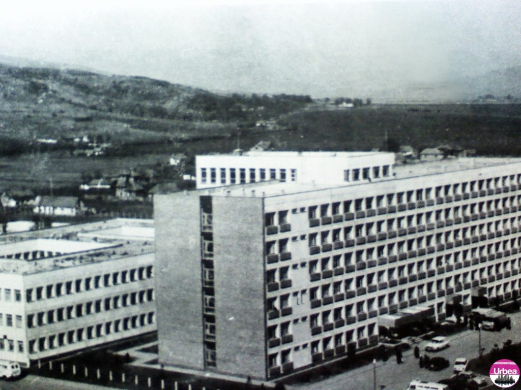 Clădirea actualului spital judeţean de urgenţe din Alba Iulia.