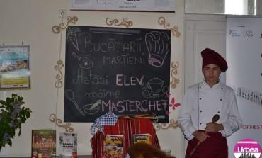 """Cel mai bun preparat pregătit de elevii Colegiului Economic """"Dionisie Pop Marțian"""""""
