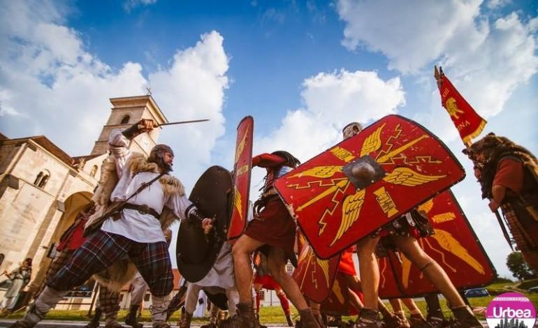 De ASTĂZI, Garda Apulum reia seria spectacolelor de reconstituire antică
