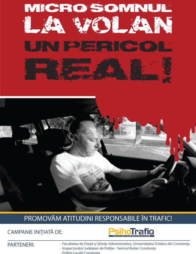 (Micro)Somnul la volan – un pericol real. România, locul doi în topul accidentelor auto din U.E!