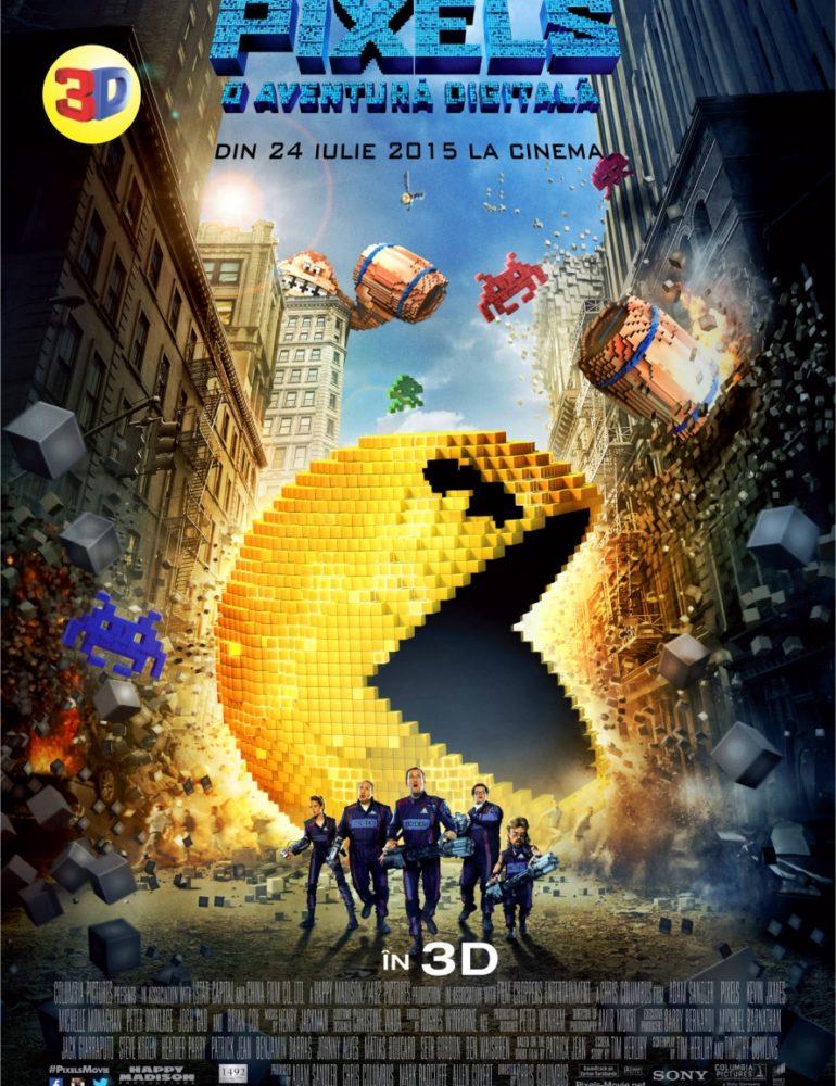 Pixels 3D la Colours Cinema din 23 Iulie