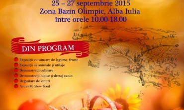 """25-27 SEPTEMBRIE: A XXIV-a ediţie a Târgului """"Apulum Agraria"""". Programul evenimentului"""