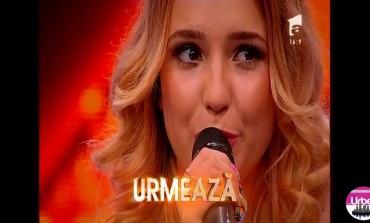 VIDEO: Talentul şi sensibilitatea i-au adus trei de DA albaiuliencei Antinia Simion la concursul de talente X Factor