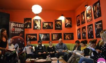"""(FOTO-VIDEO) """"O mie şi una de definiţii ale teatrului"""" în aromă de cafea: A treia zi a Festivalului Internaţional de Teatru"""