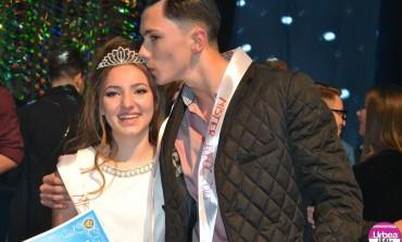 """FOTO: Raul Anghelescu şi Raluca Clopoţel, Mister şi Miss Boboc 2015, la Colegiul Naţional """"Horea, Cloşca şi Crişan"""" din Alba Iulia"""