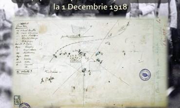 LUNI: Schița pentru apărarea orașului Alba Iulia, la Marea Adunare Naţională, exponatul lunii decembrie la Muzeul Naţional al Unirii