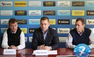 FOTO: Dan Mănălă, noul antrenor la AS Mureșul Vințu de Jos