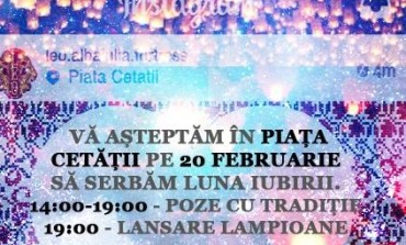 """20 FEBRUARIE: """"Iubește românește"""" în Piața Cetății din Alba Iulia alături de LEO Alba Iulia Fortress"""
