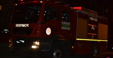 Incendiu în comuna Unirea: O anexă gospodărească a fost cuprinsă de flăcări