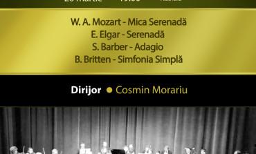 """Concert al Orchestrei de Cameră """"Augustin Bena"""", duminică, la Casa de Cultură a Studenților din Alba Iulia"""
