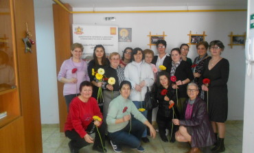 """Sărbătoare de primăvară la Aşezământul pentru persoane cu dizabilităţi """"Sfântul Meletie"""" din Alba Iulia"""
