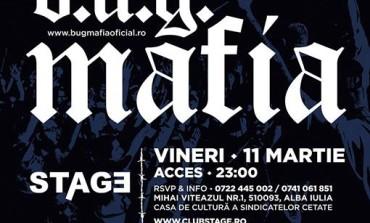 VINERI: Concert 100% live în Club Stage. Trupa B.U.G Mafia ajunge la Alba Iulia