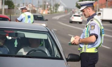 Amenzi de peste 50.000 de lei și 9 permise de conducere reținute în urma unei acţiuni a Poliţiei Rutiere Alba