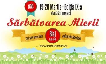 """În weekend: """"Sărbătoarea mierii"""" la Blaj, ediția a IX-a. Programul manifestării"""