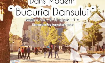 """8-10 APRILIE: A V-a ediţie a Concursului Naţional de Dans Modern """"Bucuria Dansului"""", la Alba Iulia"""
