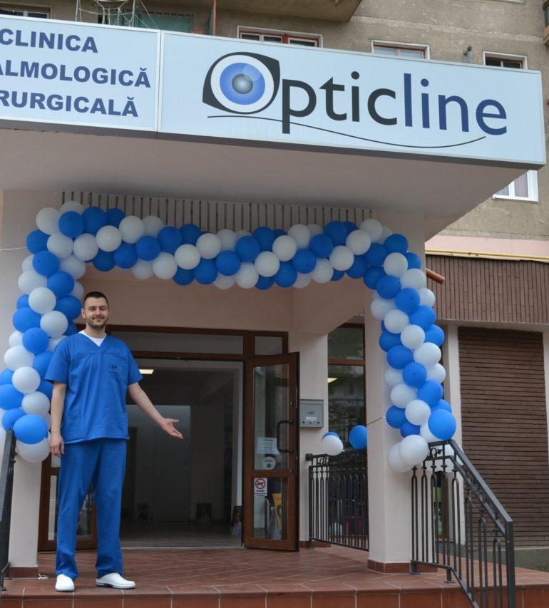 FOTO: Opticline, clinica de diagnostic și chirurgie oftalmologică din Alba Iulia, acum și la Deva