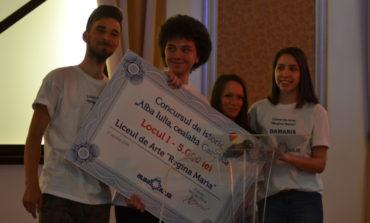 """FOTO-VIDEO: Liceul de Arte """"Regina Maria"""", câştigător la concursul pe teme de istorie """"Alba Iulia, Cealaltă Capitală"""""""