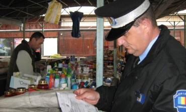 Acțiune IPJ Alba în piețe și târguri:  69 de comercianţi amendaţi, produse din carne şi alte bunuri confiscate