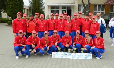 """FOTO: """"Campionatul militar de orientare, cros, șah și minifotbal"""". Elevii de la Colegiul Național Militar """"Mihai Viteazul"""" din Alba Iulia au fost pe podium"""