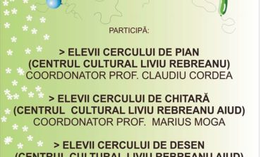 """ASTĂZI: Manifestarea cultural-artistică """"Bucuria copilăriei"""", la Centrul Cultural """"Liviu Rebreanu"""" din Aiud"""