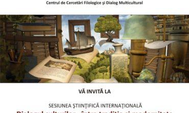 """Vineri: Conferința internațională """"Dialogul culturilor – între tradiție și modernitate"""", la UAB"""