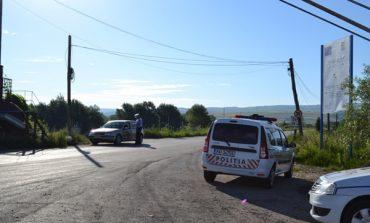 Accident la Bucium: O femeie a fost acroșată de un autoturism