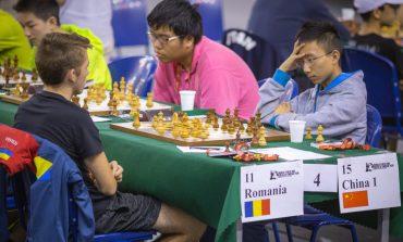 România, cu doi albaiulieni în formație, a terminat la egalitate cu China la Campionatul Mondial de juniori sub 16 ani pe echipe din Slovacia