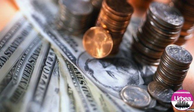Dolarul a crescut cu aproape 4,5 bani