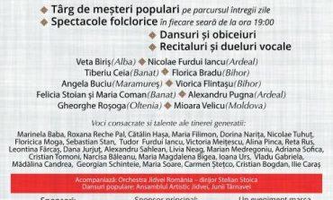 """14-15 august: """"Cântec de suflet"""", în Piața Cetății din Alba Iulia. Programul evenimentului"""