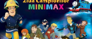 Sâmbătă: Caravana Minimax ajunge la Alba Iulia. Curiosul George, pompierul Sam, frații Kratt, Mia și Bibi Blocksberg îi invită pe cei mici în Piața Cetății