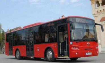 Cinci autobuze adaptate persoanelor cu handicap, achiziționate de STP Alba Iulia