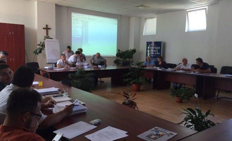 LUNI: Şedinţă extraordinară la Consiliul Local Alba Iulia. Opt proiecte pe ordinea de zi