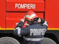 Incendiu la sediul fabricii Apulum SA din Alba Iulia: Un depozit de cartoane a luat foc