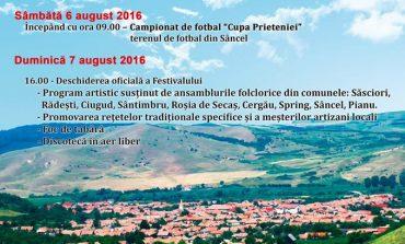 6-7 august: A XII-a ediţie a Festivalului Alba Afroda, la Sâncel. Program