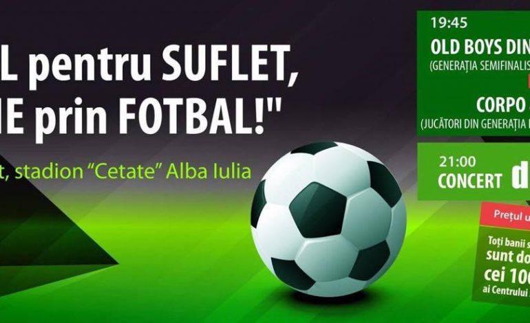 27 august: Festivalul Fotbalistic Grassroots, pe Stadionul Cetate din Alba Iulia. Concert Direcția 5 și alte surprize pentru participanți