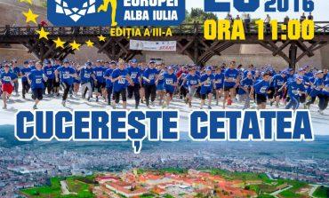 VINERI: Crosul Europei, ediția a III-a. Albaiulienii, invitați să cucerească Cetatea Alba Iulia, prin sport și voie bună