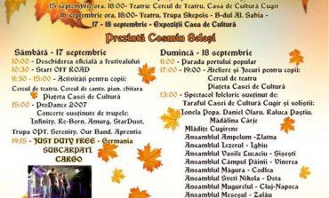 """Festivalul """"Toamna Cugireană"""" 2016: Spectacole folclorice, concerte susținute de Cargo, Bere Gratis, Just Duty Free, SubCarpați și Millenium. Programul complet"""