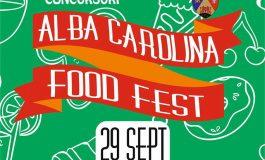 29 septembrie – 2 octombrie: Alba Carolina Food Fest. Bunătăți, muzică și filme, la Alba Iulia