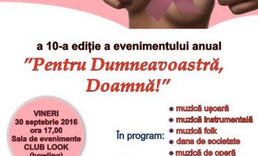 """VINERI: """"Pentru Dumneavoastră Doamnă!"""", eveniment la Alba Iulia, cu ocazia Zilei mondiale a luptei împotriva cancerului de sân. Programul complet"""