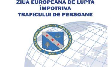 18 octombrie: Ziua Europeană de luptă împotriva traficului de persoane. Întâlnire între autorităţile publice locale, la Alba Iulia
