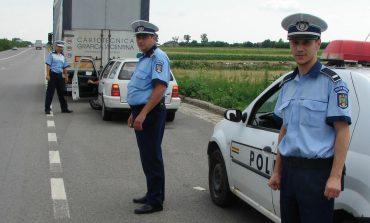 Peste 34 de şoferi au fost sancţionaţi pentru abateri şi infracţiuni săvârşite la regimul rutier
