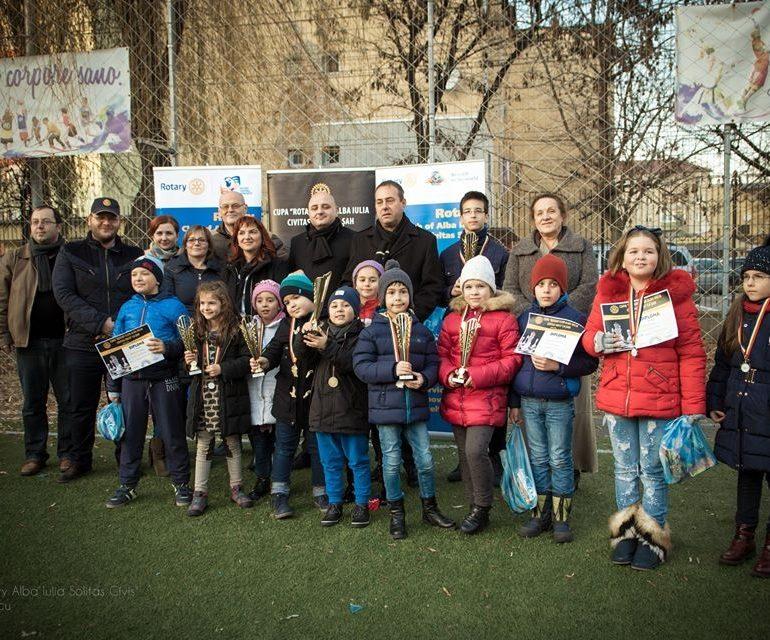 """FOTO: A treia ediție a Cupei """"Rotary Club Alba Iulia Civitas Solis la Șah"""" – turneul cu cei mai mulți participanți organizat vreodată la Alba Iulia"""