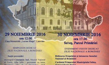 Ziua Națională, sărbătorită la Sebeș în 29 și 30 noiembrie
