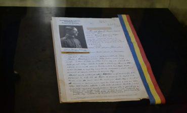 FOTO-VIDEO: Fișa biografică a comandantului Gărzii Naționale din 1918, Florian Medrea, exponatul lunii decembrie la Muzeul Național al Unirii din Alba Iulia
