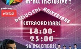 """ASTĂZI: Nouă ani de la deschiderea complexului comercial Alba Mall. """"Noaptea Reducerilor"""" și concert cu Vescan și Trupa Maxim"""