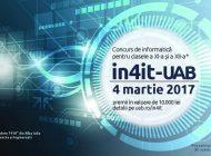 Concurs de informatică organizat de Universitatea din Alba Iulia, pentru elevii din clasele XI-XII