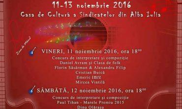 """11-13 noiembrie: Festivalul Național de Muzică Folk """"Ziua de Mâine"""", ediția a XII-a, al Alba Iulia. Programul complet"""