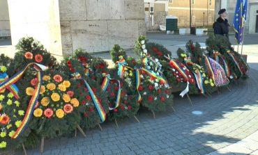 FOTO: Ceremonie organizată la 417 de la intrarea triumfală a lui Mihai Viteazul în Alba Iulia